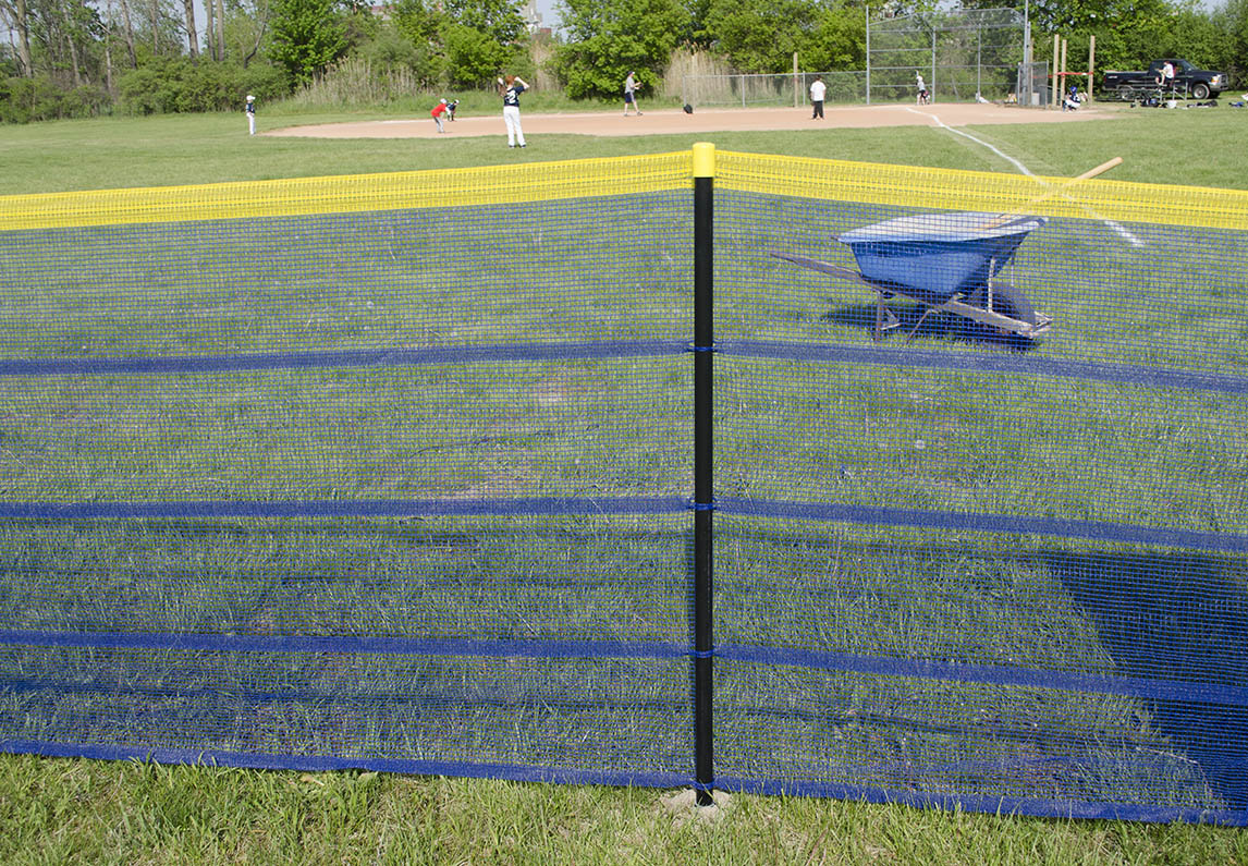 In Ground Grand Slam Fence Baseball Outfield Fence